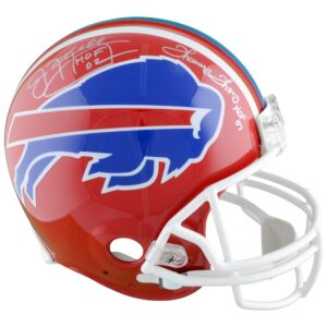 Jim Kelly & Thurman Thomas Signed Buffalo Bills Helmet