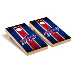 Buffalo Bills 2′ x 4′ Vintage Regulation Cornhole Board Tailgate Toss Set