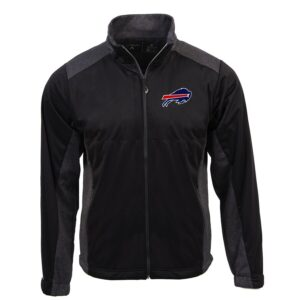 Buffalo Bills Antigua Revolve Full-Zip Jacket – Black