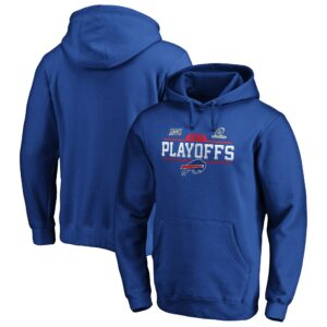 Buffalo Bills  2019 NFL Playoffs Bound Chip Shot Pullover Hoodie – Royal