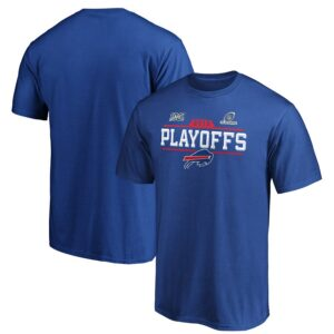Buffalo Bills Fanatics Branded 2019 NFL Playoffs Bound Chip Shot T-Shirt – Royal