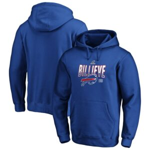 Buffalo Bills 2019 NFL Playoffs Bound Hometown Checkdown Pullover Hoodie – Royal