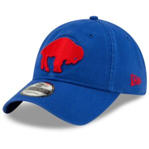 Buffalo Bills New Era Core Classic Historic 9TWENTY Adjustable Hat – Royal