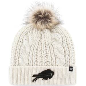 Buffalo Bills '47 Women's Meeko Cuffed Knit Hat – Cream