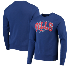 Buffalo Bills '47 Varsity Block Headline Sweatshirt – Royal